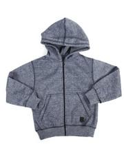 Phat Farm - Yarn Dyed Melange Fleece Hoodie (4-7)-2174927