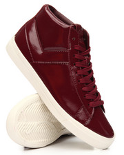 Men - Top Star Hi Pebbled Patent Sneakers