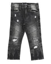 Bottoms - Rip & Repair Moto Denim Jean (2T-4T)