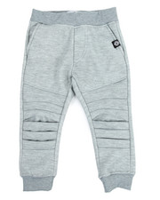 Akademiks - Pleated Knee Jogger (2T-4T)