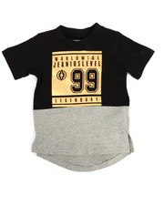Akademiks - Foil Print Elongated Tee (2T-4T)