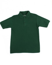 DRJ School Uniforms - S/S Boys Polo Pique Shirt (8-20)