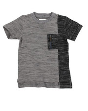 Akademiks - Marled Elongated Tee (2T-4T)
