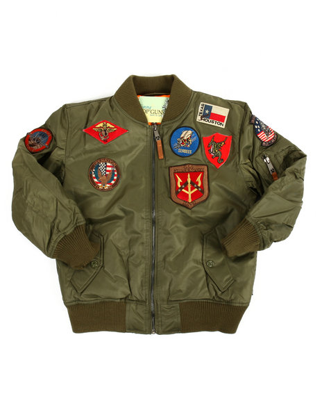 4694209e2bc Buy MA-1 Bomber Jacket (8-20) Boys Outerwear from Top Gun. Find Top ...