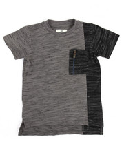 Akademiks - Marled Elongated Tee (4-7)