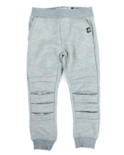 Akademiks - Pleated Knee Jogger (4-7)