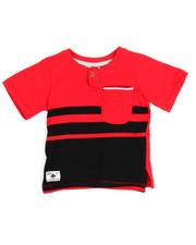 Tops - Odd Stripe Henley (Infant)