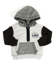 Hoodies - All Night Half Zip Hoodie (Infant)
