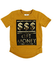 Akademiks - Get Money 3D Embossed Elongated Tee (4-7)