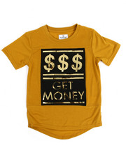Akademiks - Get Money 3D Embossed Elongated Tee (8-20)