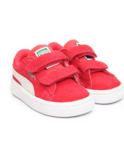 Girls - Suede Classic Velcro Inf Sneakers (5-10)