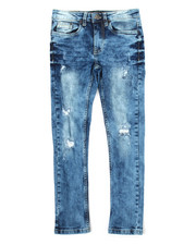 Sizes 8-20 - Big Kids - Stretch Denim Rip & Repair Skinny Jean (8-20)