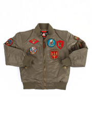 Light Jackets - MA-1 Flight Jacket Patches (8-20)