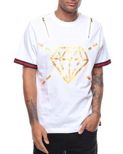 Shirts - FORBES FOIL ZIP TEE