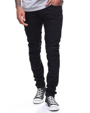 Jeans - MESH SEAMED STRETCH MOTO JEAN
