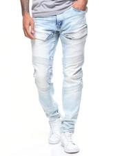 Jeans - ZIP THIGH POCKET STRETCH MOTO JEAN