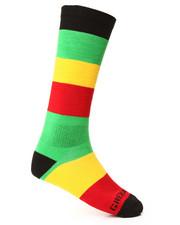 Accessories - Grenade Wide Striped Socks