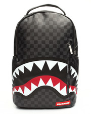 Accessories - Checkered Sharks In Paris Backpack