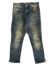 Bottoms - Stretch Moto Jean (4-7)