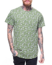 T-Shirts - FERN & FLOWER PRINT TEE