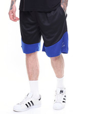 Buyers Picks - CONTRAST SCALLOP BASKETBALL SHORT