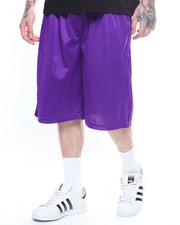 Shorts - Solid Mesh Short