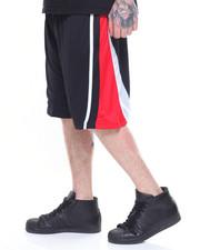Shorts - TRI COLOR SIDE STRIPE ATHLETIC SHORT