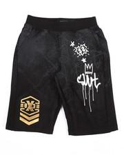 Bottoms - Graffiti Print Shorts (8-20)