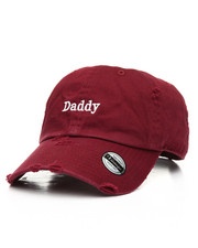 Dad Hats - Daddy Distressed Dad Hat-2177105