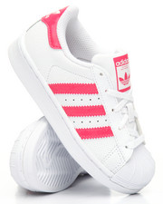Pre-School (4 yrs+) - Superstar Holographic Stripes C Sneakers (10.5-3)