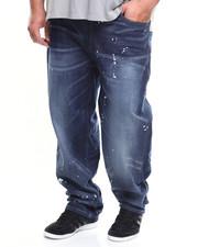 Jeans - Dark Paint Splatter Denim (B&T)