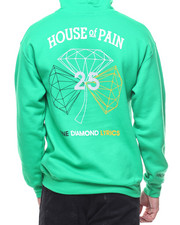 Diamond Supply Co - L/S H.O.P Diamond Pullover Hoodie