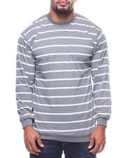 Men - L/S Fedders Stripe Tee (B&T)-2177575