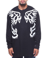 T-Shirts - L/S Panther Face Off Tee (B&T)