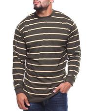 Men - L/S Fedders Stripe Tee (B&T)-2177541