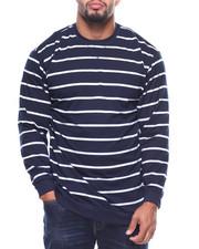 Men - L/S Fedders Stripe Tee (B&T)-2177590
