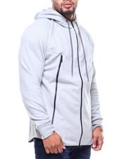 Light Jackets - L/S Tech Fleece Full Zip Hoodie (B&T)-2177019