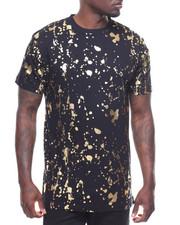 T-Shirts - GOLD FOIL SPLATTER TEE