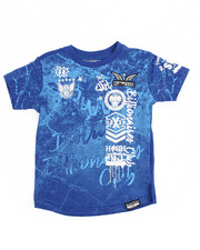 Boys - Graffiti Print Tee (4-7)-2177356