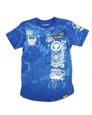 Sizes 8-20 - Big Kids - Graffiti Print Tee (8-20)