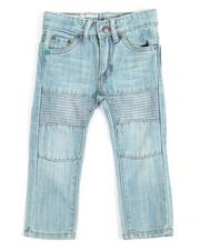 Bottoms - Moto Denim Jeans (2T-4T)