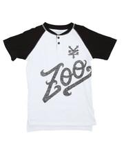Zoo York - Crackle Jack Henley Tee (8-20)
