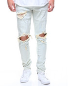 Pacific Denim In Light blue Ripped
