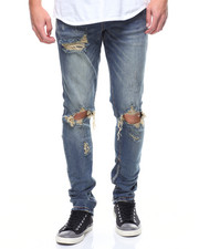 Men - Pacific Denim in Blue Vintage Ripped