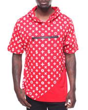 Shirts - LOUIS SPLATTER SS HOOD