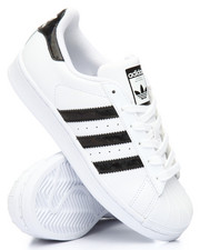Grade School (5 yrs+) - Superstar Holographic Stripes J Sneakers (3.5-7)