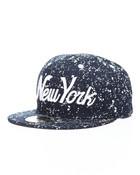 New York All Over Splatter Snapback Hat