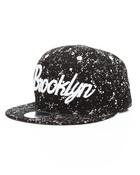 Brooklyn All Over Splatter Snapback Hat