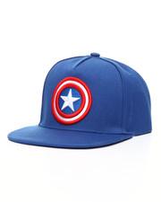Hats - Captain America Snapback Hat
