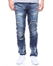 Buyers Picks - AARON DISTRESSED MOTO JEAN